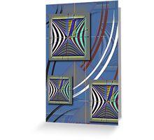 """""""Minkowski Lightcone Lorentz Transformation""""© Greeting Card"""