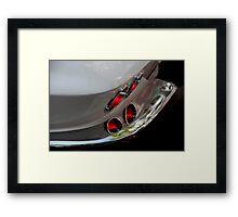Chrome Reflections Framed Print