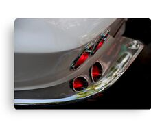 Chrome Reflections Canvas Print