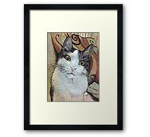 Who Me? Framed Print
