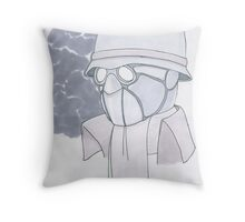 The Midnight Mask Throw Pillow