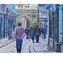 Pilgrims at the Gate Photographic Print