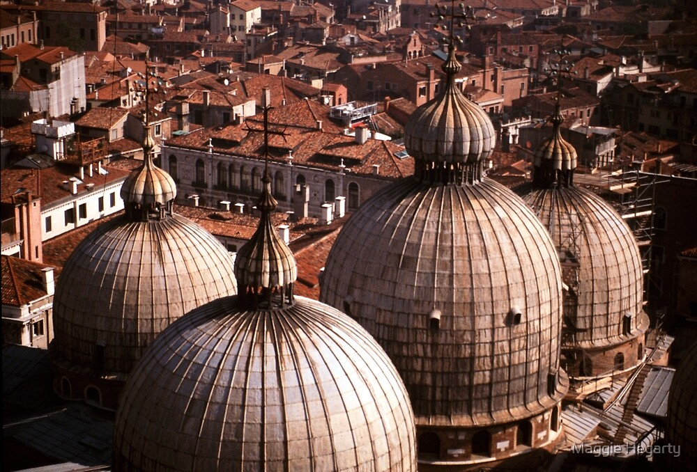 Domes of San Marco, Venice by Maggie Hegarty