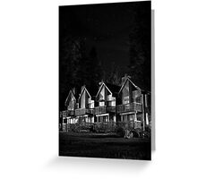 Housing :) Greeting Card