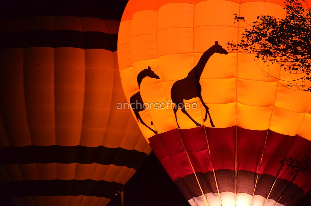 Hot Air Balloons  by anchorsofhope