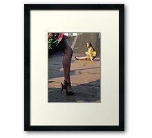 girls,girls,girls! Framed Print