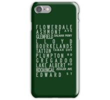 Wagga Bus Roll - green, route 2 iPhone Case/Skin