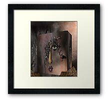 Lost in a Box Framed Print