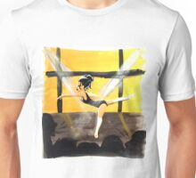 Beautiful Dancer at the Recital, (gouache painting) Unisex T-Shirt