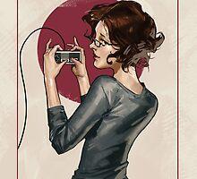 "Modern Ladies #1: ""Old School"" by Samuel Deats"