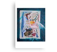 saigon crane  Canvas Print