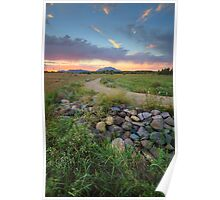 Peavine Sunset Poster