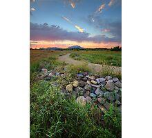 Peavine Sunset Photographic Print