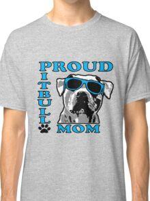 PROUD PIT BULL MOM 2 Classic T-Shirt