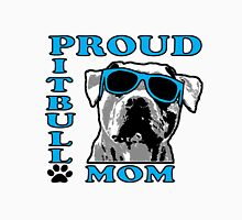 PROUD PIT BULL MOM 2 Unisex T-Shirt