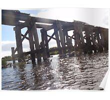 Railroad Bridge - Warrnambool, Victoria Poster