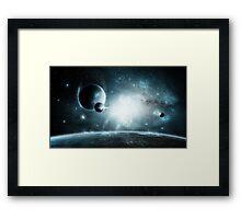Silent Light Framed Print