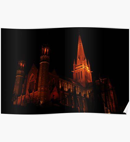 Sacred Heart Cathedral - Bendigo, Victoria Poster