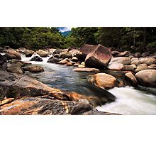 Mossman Gorge, Daintree QLD, Wide Angle Photographic Print