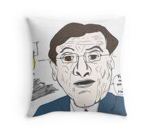 Le Premier ministre grec Antonis Samaras bande dessinée Throw Pillow