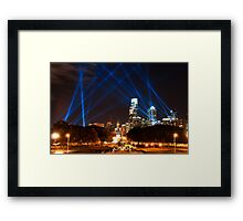 Philadelphia's Open Air Event Framed Print