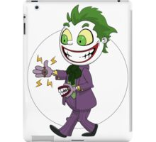 The Joker laughs out loud iPad Case/Skin