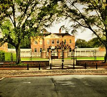 Tryon Palace From George Street by jerryb032873