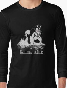 Sled Dog (Harness) Long Sleeve T-Shirt
