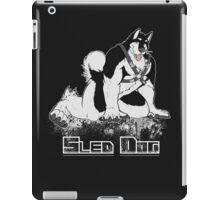 Sled Dog (Harness) iPad Case/Skin