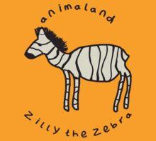 Zilly the Zebra by jackfords