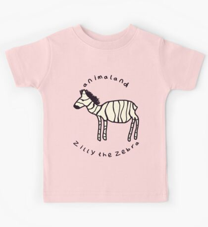 Zilly the Zebra Kids Tee