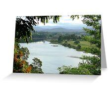 Macleay River  Greeting Card