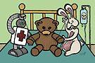 Teddy Bear And Bunny - She Left Me by Brett Gilbert