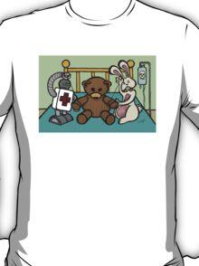 Teddy Bear And Bunny - She Left Me T-Shirt