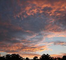 Sunset Over Parkwood, South East Queensland by aussiebushstick