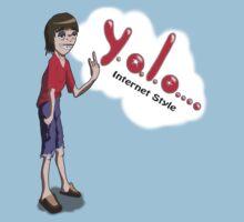 The Y.O.L.O Internet Geek Kids Clothes