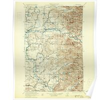 USGS Topo Map Washington State WA Sultan 244098 1923 125000 Poster