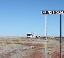 Qld / NT Border Crossing by Finkie