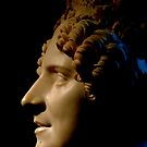 Marble Bust in Profile by Barnbk02