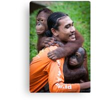 The Centre for Orangutan Protection Canvas Print