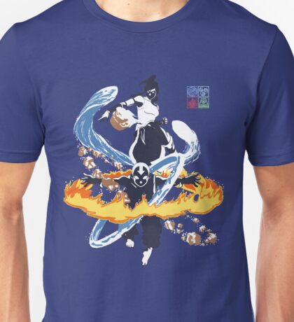 Avatar Aang and Korra Unisex T-Shirt