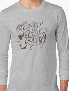 BOB DYLAN, BLOWIN' IN THE WIND Long Sleeve T-Shirt