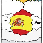 Emigrating To Spain Card by springwoodbooks