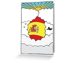 Emigrating To Spain Card Greeting Card