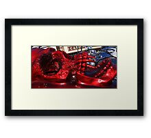 Red Head. Framed Print