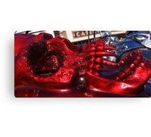 Red Head. Canvas Print