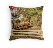 The Little Bridge Throw Pillow
