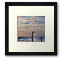 Aldinga Silver Sands Beach Framed Print