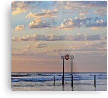 Aldinga Silver Sands Beach Metal Print