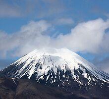 Mt Ngauruhoe, New Zealand by Richard Moore